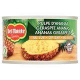 Del Monte Geraspte Ananas op Sap 230 g