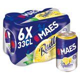 Maes Radler Citron Canettes 6 x 33 cl