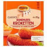 Mora Classics Croquettes de Viande de Bœuf 4 x 70 g