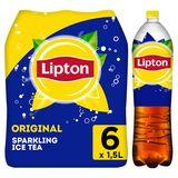 Lipton Iced Tea Thé Glacé Pétillant Original  6 x 1.5 l
