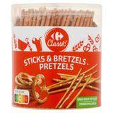 Carrefour Classic' Sticks & Pretzels 300 g