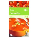 Carrefour Soep Tomaten met Balletjes 1 L