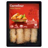 Carrefour 8 Mini Nems Porc 260 g