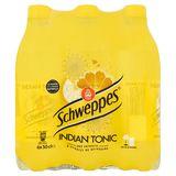 Schweppes Indian Tonic aux Extraits d'Écorces de Quinquina 6 x 50 cl