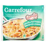 Carrefour Poêlée Gourmande Poêlée de Riz au Poulet & Champignons 900 g