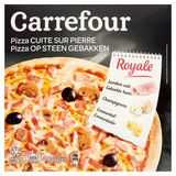 Carrefour Pizza op Steen Gebakken Royale 400 g