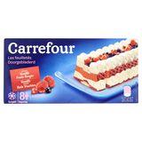 Carrefour Doorgebladerd Vanille Smaak Rode Vruchten 362 g