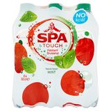 SPA TOUCH Mint Gearomatiseerd Water Bruisend PET 6 x 50 cl