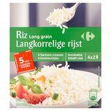 Carrefour Langkorrelige Rijst 4 x 125 g