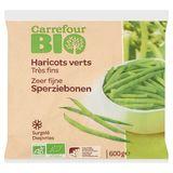 Carrefour Bio Zeer Fijne Sperziebonen 600 g
