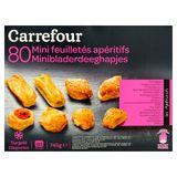 Carrefour Mini Feuilletés Apéritifs 80 Pièces 754 g