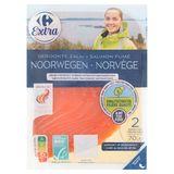 Carrefour Extra Gerookte Zalm Noorwegen 2 Sneetjes KKC 70 g