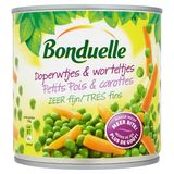 Bonduelle Doperwtjes & Worteltjes Zeer Fijn 305 g