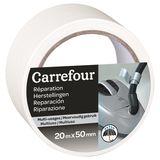 Carrefour Plakband voor herstellingen voor meervoudig gebruik 20m x 50mm