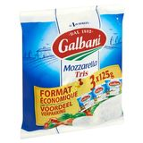 Galbani Mozzarella Tris Voordeel Verpakking 3 x 125 g