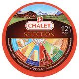 Chalet Selection Smeltkaas Assortiment 12 Port. 170 g