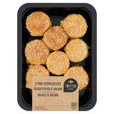 Carrefour Mini Hamburgers Gevogeltevlees & Cheddar 9 Stuks 180 g