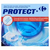 Carrefour Protect Tablettes Anti-Calcaire 45 x 12 g