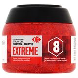 Carrefour Gel Coiffant Fixation Extreme 8 250 ml