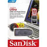 Sandisk USB-stick 3.0 - 32GB Ultra - Zwart