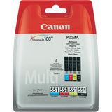 Canon - Inktcartridge CLI-551 - BL/C/M/Y