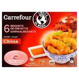 Carrefour Envies du Monde 6 Beignets de Crevette 110 g