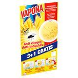 Vapona Anti Vliegen Vensterstickers 3+1 Gratis