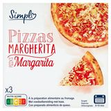 Simpl Pizzas Margherita 3 x 300 g