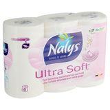 Nalys Ultra Soft Papier Toilette 2 Épaisseurs 6 Rouleaux