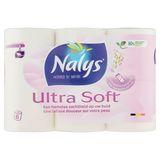 Nalys Ultra Soft 2 Lagen Toiletpapier 6 Rollen