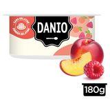 Danio Specialiteit met Verse Kaas Nectarine & Framboos Snack 180 g