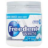 Freedent White Menthe Douce avec Microcristaux 60 Dragées 84 g