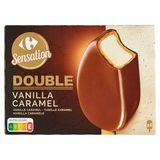 Carrefour Double Sauce Caramel 4 x 85.5 g