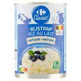 Carrefour Rijstpap Natuur 400 g