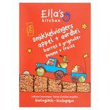 Ella's Kitchen Barres à Grignoter Pomme + Fraise 12+ Mois 5 x 25 g