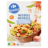 Carrefour Sensation Nouilles Poulet & Crevettes 400 g
