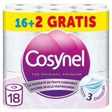 Cosynel The Original Premium Roze Toiletpapier 3 Lagen 16+2