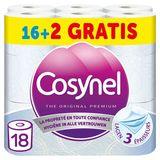 Cosynel The Original Premium 3 Lagen 18 Rollen