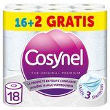 Cosynel The Original Premium Wit Toiletpapier 3 Lagen 16+2