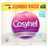 Cosynel The Original Premium Wit 3 Lagen Toiletpapier 18 Rollen