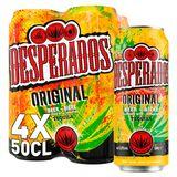 Desperados Bier Tequila 5.9% ALC Blik 4x50cl
