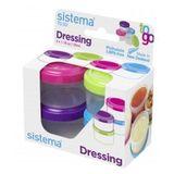 Sistema Boîtes à dressing 4 x 35 ml Aléatoire