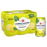 SANPELLEGRINO® Pompelmo Boisson Pétillante Fruitée Canette 6 x 33 cl
