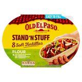 Old El Paso Stand'n Stuff 8 Soft Tortillas Flour193 g