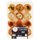 Carrefour Traiteur Party 12 Veggie Aperitiefhapjes 140 g