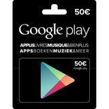 Google Play - Carte cadeau 50 euro