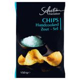 Carrefour Selection Chips Handcooked Zout 150 g
