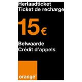 Orange - Recharge 15 euro