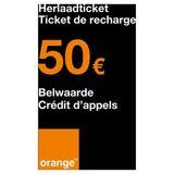 Orange - Recharge 50 euro