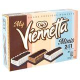 Viennetta Ola Ijsstronk Ijs Mini's - Vanille & Chocolade 3 x 125 ml